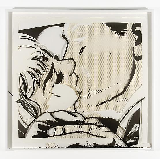 Analia Saban Collapsed Drawing: Kiss II (Roy Licht...