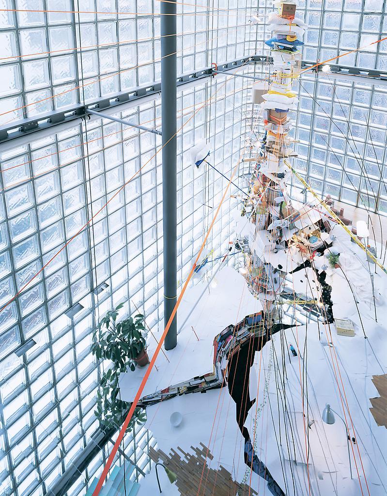 Sarah Sze Untitled (Tokyo) 2008 mixed media dimens...