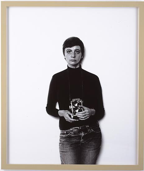Gillian WEARING Me As Arbus 2008 bromide print 60...