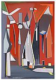 Thomas SCHEIBITZ List 2008 oil, vinyl, lacquer, pi...