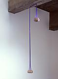 Ernesto NETO Purple seed hole 2008 seeds, elastic...