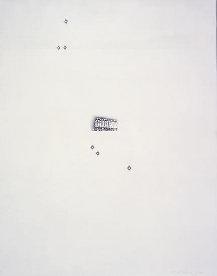Peggy PREHEIM Zodiac 2008 pencil on paper 18 1/2 x...