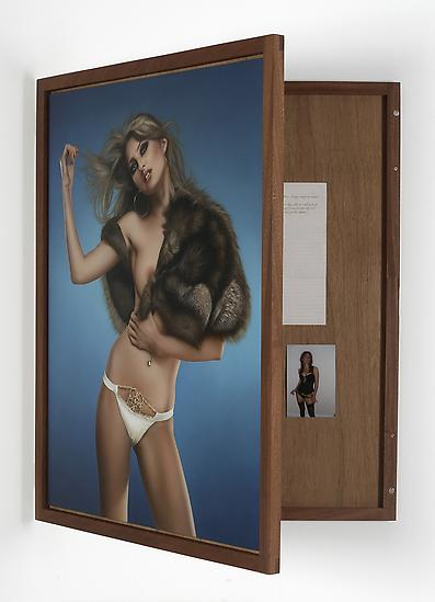 Gillian WEARING Jodie 2009 acrylic on masonite in...