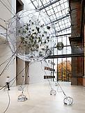 Installation view Tomas Saraceno:Biospheres,...