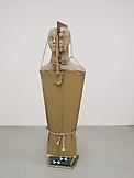 Mark Manders Figure with Book and Fake Dictionarie...