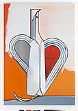 Thomas SCHEIBITZ Figur (No. 538) 2009 oil, vinyl,...