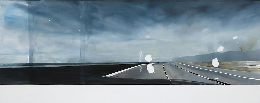Carla KLEIN Untitled 2009 oil on canvas 59 1/8 x 1...