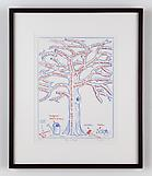 Mark DION Tree Scheme 2009 plate lithograph 16 5/8...