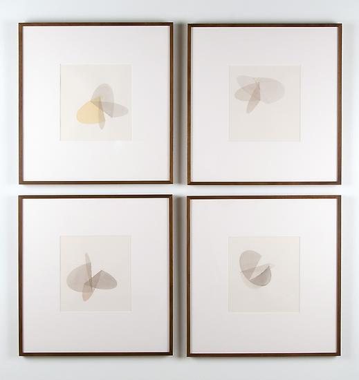 Olafur Eliasson Folded grey movies 2009 watercolor...