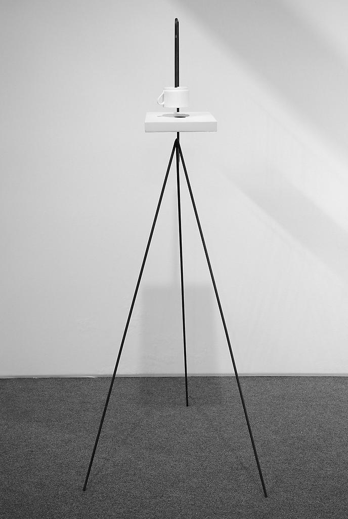 Mark Manders Shadow Study 2010-2011 iron, painted...