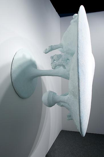 Charles Long Untitled 2010 aqua-resin fiberglass a...
