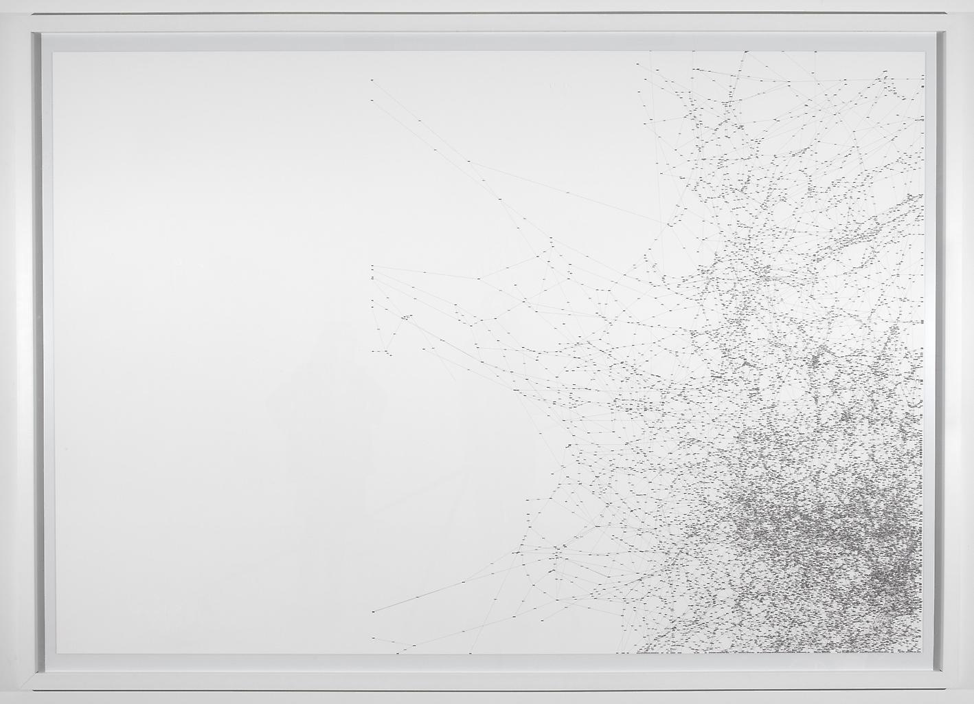 Tomas SARACENO Study for 14 Billions 2010 framed c...