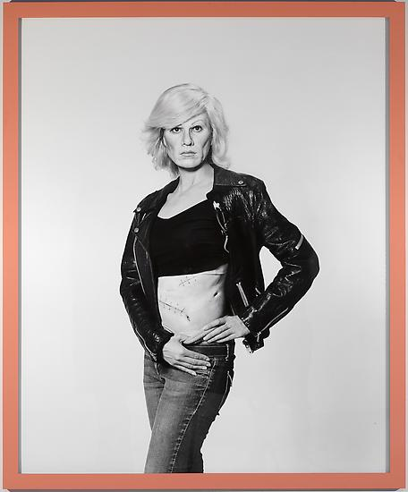 Gillian WEARING Me as Warhol in Drag with Scar 201...