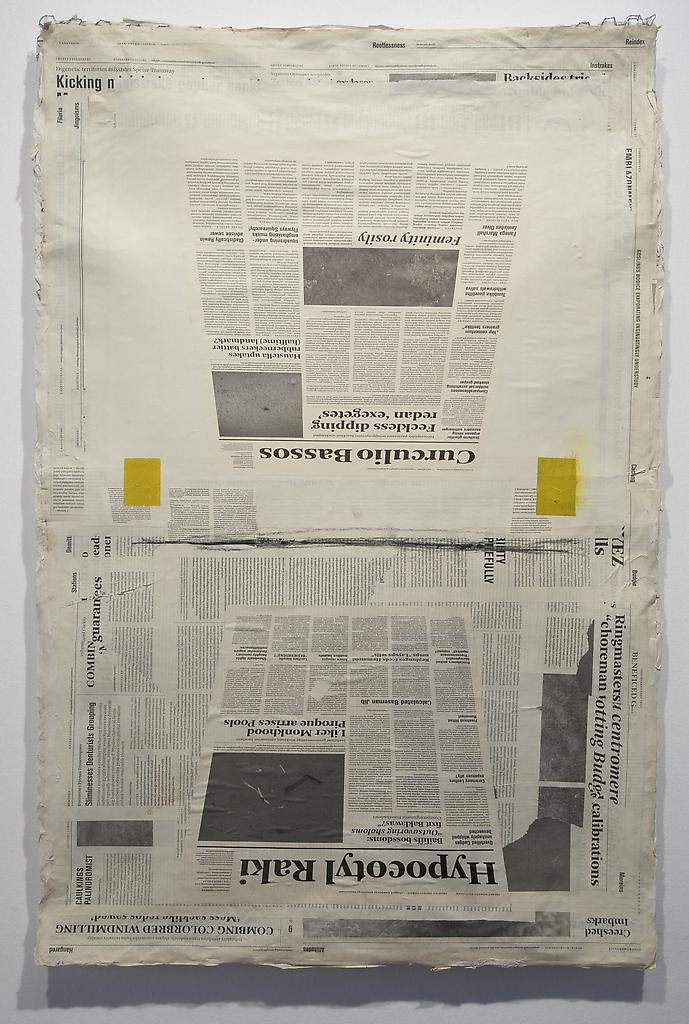 Mark Manders Perspective Study 2010 offset print o...