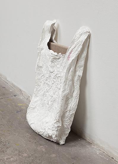 Analia Saban Bag with Canvas 2011 15 x 8 x 2 1/2 i...