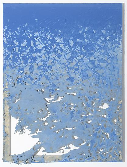 Analia Saban Fade Out (from Blue) 2011 laser-carve...