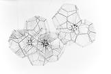 Tomas SARACENO Galactic Brain 2011 black polyester...