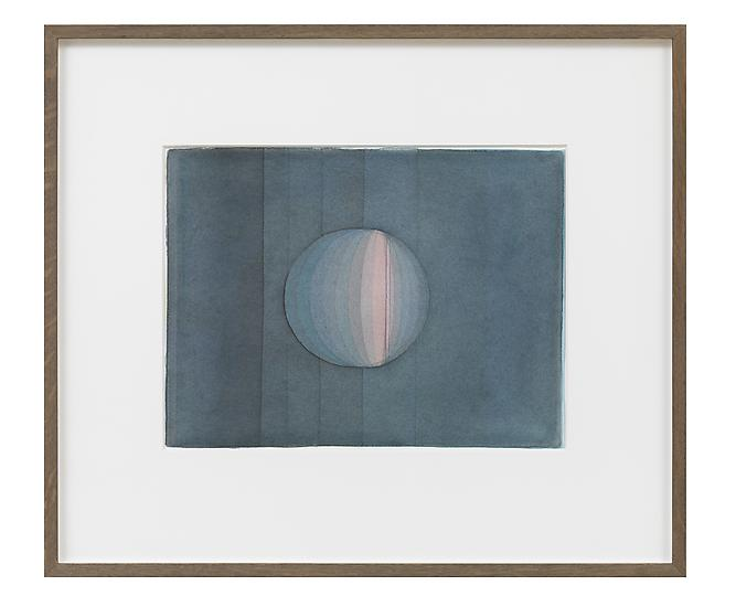 Olafur Eliasson Twilight studies 2011 watercolor a...