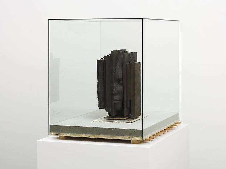 Mark Manders Silent Head on Concrete Floor 2011 pa...