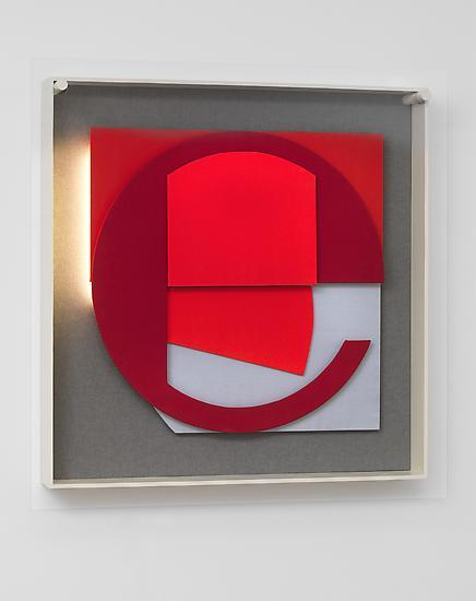 Thomas SCHEIBITZ (Relief) FE 90 2011 Wood, fabric,...
