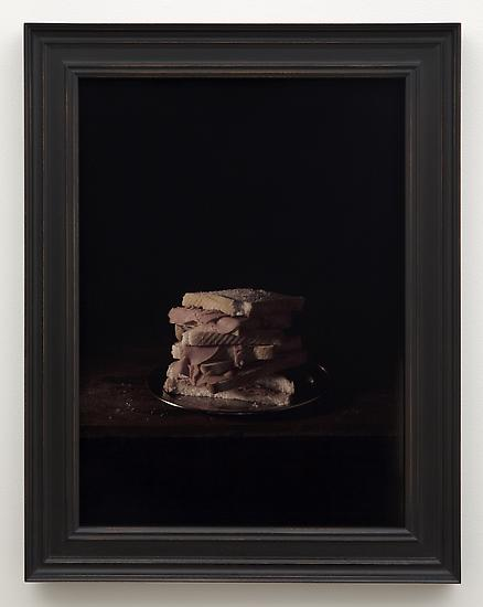 Mat COLLISHAW Bernard Amos 2011 framed C-print 30...