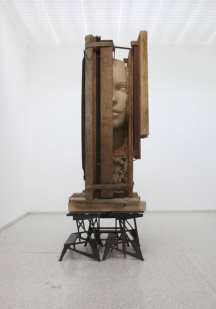 Mark Manders Working Table 2012-2013 Painted epoxy...