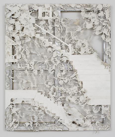 Analia Saban Erosion (Staircase) 2012 Laser sculpt...