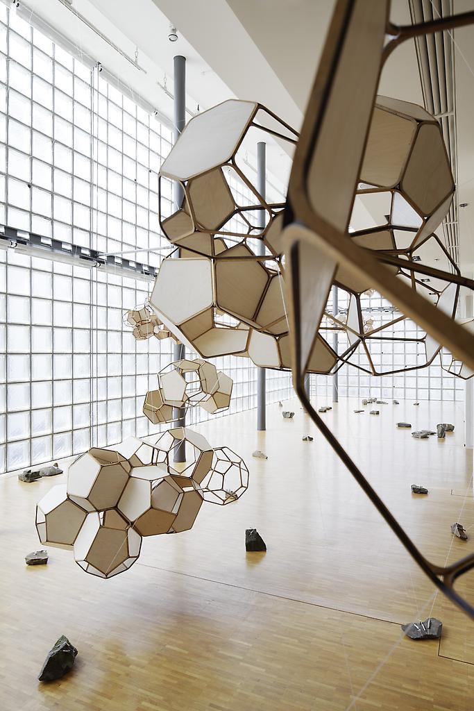 Installation viewTomas Saraceno: Cloud Citie...