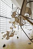 Installation view Tomas Saraceno: Cloud Citie...