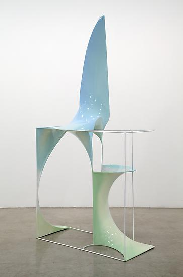 Charles LONG Untitled 2012 steel, reinforced ecopo...