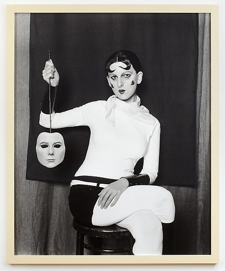 Gillian WEARING Me as Cahun Holding a Mask of My F...