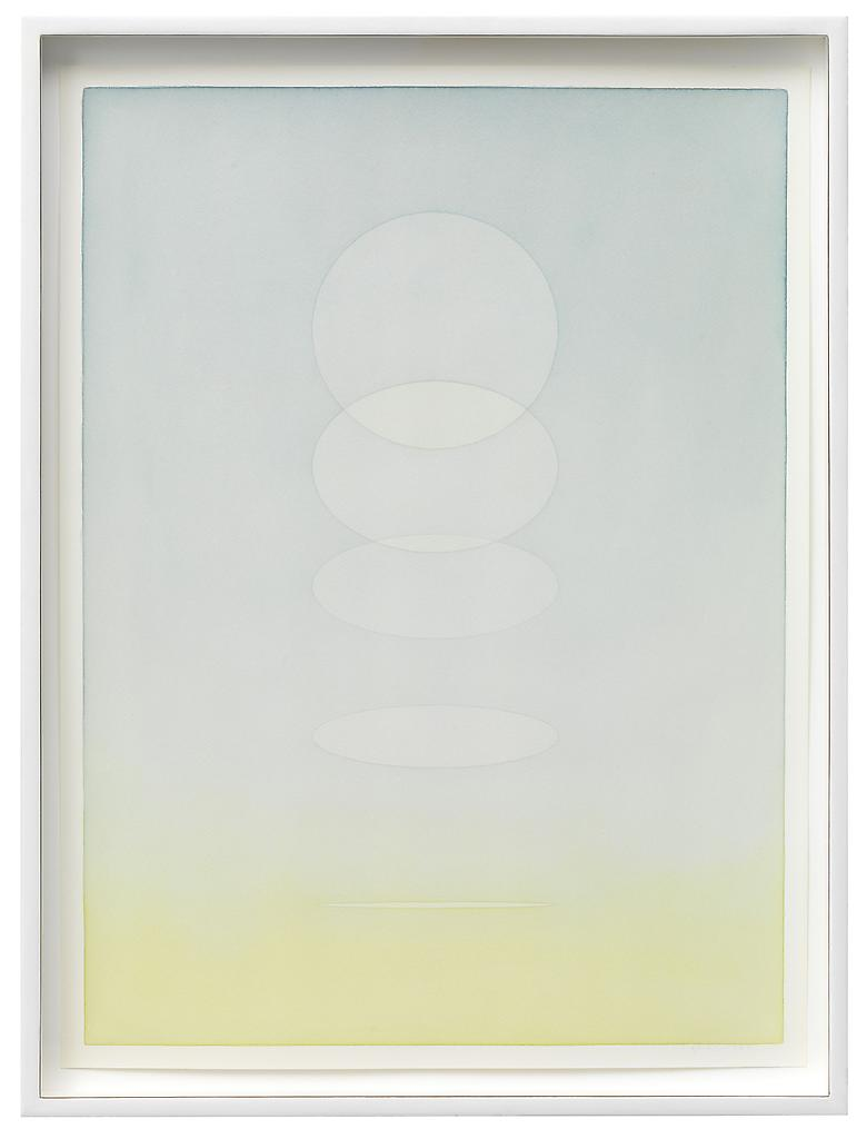 Olafur Eliasson Twilight tones 5 2012 pencil and w...