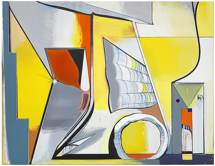 Thomas SCHEIBITZ Le Matin 2012 Oil, vinyl, pigment...