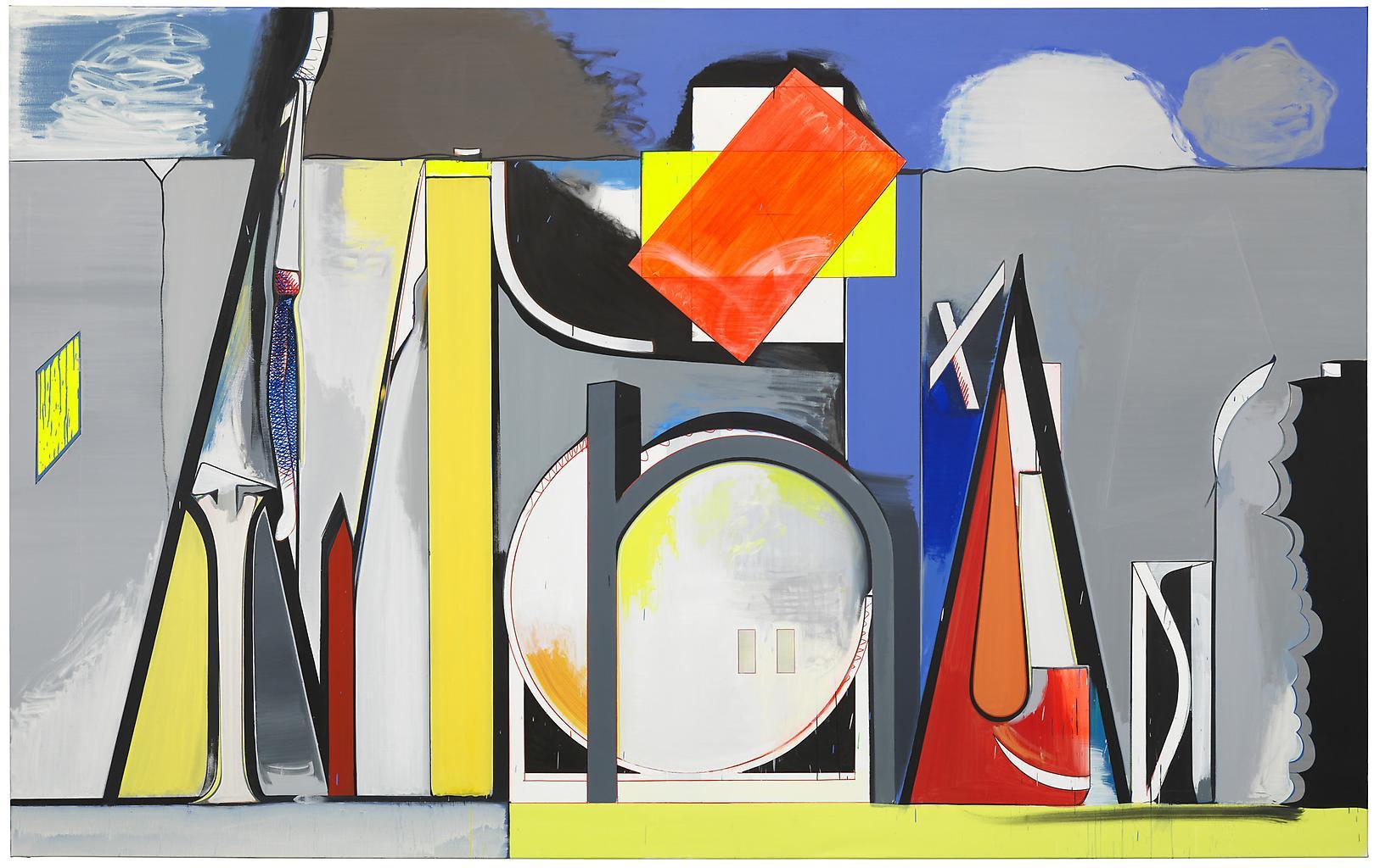 Thomas SCHEIBITZ One-Time Pad 2012 Oil, vinyl, pig...