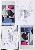Thomas SCHEIBITZ Ohne titel 2012 Pencil, colored p...