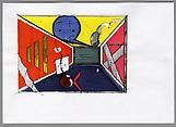 Thomas SCHEIBITZ Ohne titel Pencil, colored pencil...