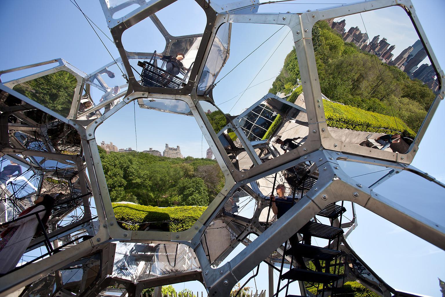 Tomas Saraceno Cloud City 2012 Installation at The...
