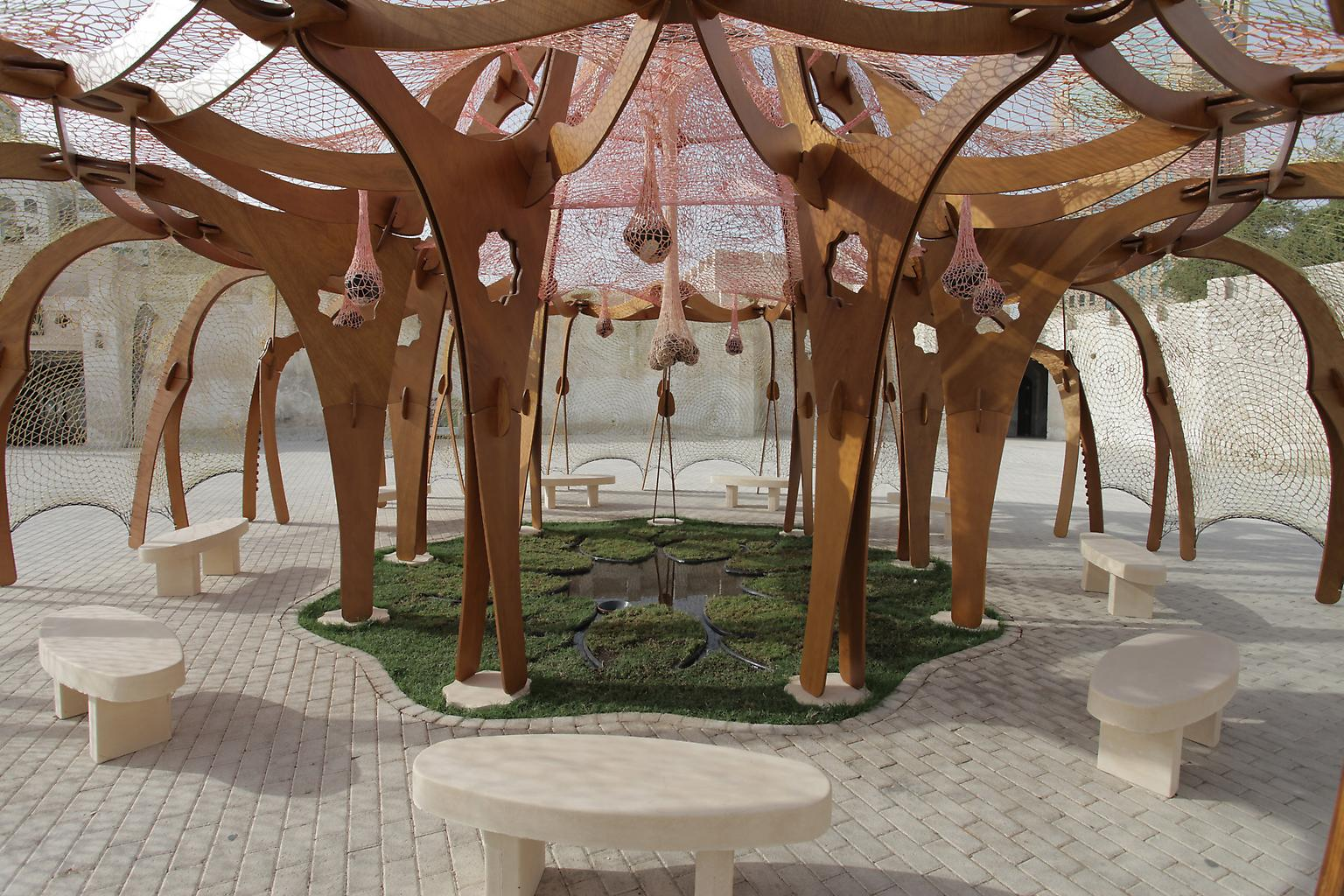 Ernesto Neto While Culture Moves Us Apart, Nature...