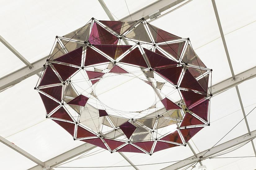Tomas SARACENO Ringkite 1:3 Model 2013 mixed media...