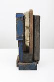 Mark Manders Composition in Blue 2013 wood, painte...