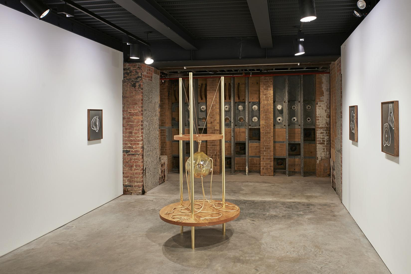 This is an installation image of Kelly Akashi at S...