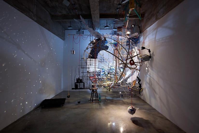 Sarah Sze 360 (Portable Planetarium) 2010 mixed me...