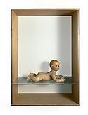 Haim Steinbach Untitled (baby) 2004 wood, plastic...