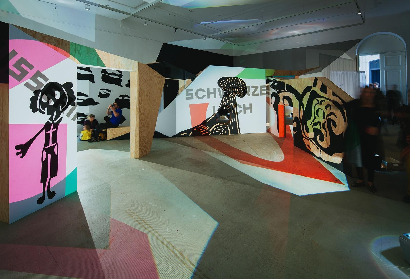 Rivane NEUENSCHWANDER Installation view, Children&...