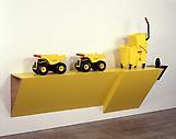 Haim Steinbach tonkong rubbermaid II-1 2007 plasti...