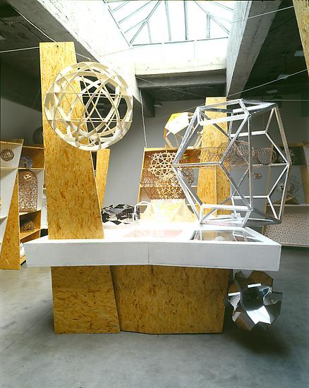 Olafur ELIASSON Model room 2003 chipboard display...