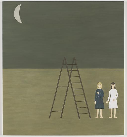 Rita Lundqvist Moon ( Måne ) 2006 oil on pan...