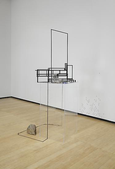 Sarah Sze Random Walk Drawing (Frame) 2011 Mixed m...