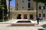 Reverse Joy, 2012 public fountain, red pigment Jer...