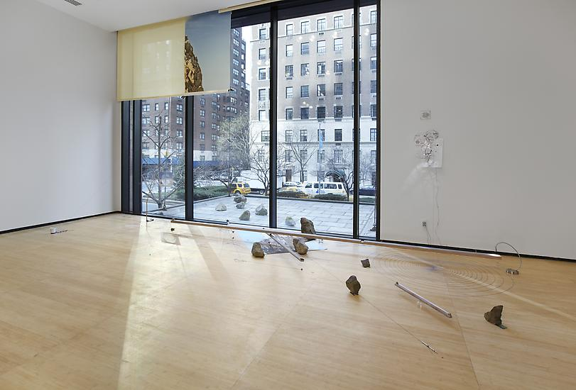 Sarah Sze Random Walk Drawing (Window) 2011 Mixed...